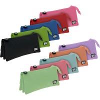 GRAFOPLAS 37545454. Estuche escolar portatodo triple plano Bits&Bobs rosa