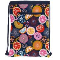 GRAFOPLAS 37610507. Mochila saco con cuerdas Jocelyn Proust Orange