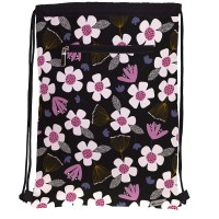 GRAFOPLAS 37610509. Mochila saco con cuerdas Jocelyn Proust Floral