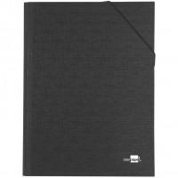 Liderpapel CS02. Carpeta clasificadora 12 departamentos folio prolongado negra