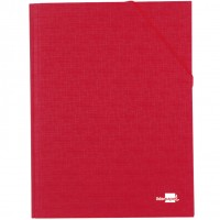 Liderpapel CS03. Carpeta clasificadora 12 departamentos folio prolongado roja
