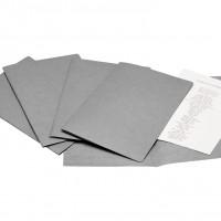 Liderpapel SC25. 50 subcarpetas folio 180 g/m2 grises