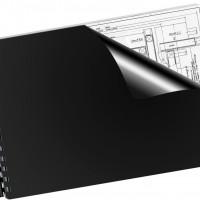 Q-Connect KF26808. Tapa de encuadernación negra PVC DIN A4 - 180 micras caja de 100