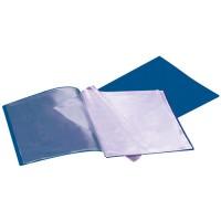 Liderpapel Carpeta escaparate de polipropileno con 40 fundas soldadas A4. Colores