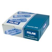 MILAN 840 Goma de borrar biselada de caucho sintético