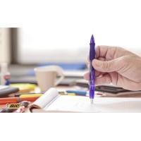 BIC Gelocity Quick Dry Bolígrafo retráctil tinta gel punta media de 0,7 mm. Colores pastel