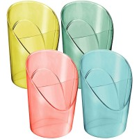 Esselte Bote portalápiles de plástico Colour Ice