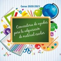 Convocatoria de ayudas para la adquisición de material escolar. Curso 2020/2021