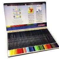 ALPINO AL000005. 36 lápices acuarelables en caja de metal
