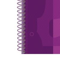 Oxford 400072665 Cuaderno School Europeanbook 1 tapa forrada 80 hojas morado