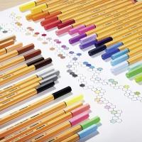 STABILO 88-6-1. Estuche 6 rotuladores Point 88 colores neon. Trazo 0.4 mm.