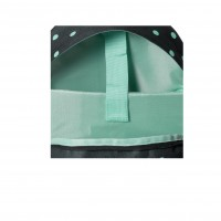 GRAFOPLAS 37502926. Mochila escolar Rubber Unequal Grid Mint
