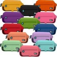 GRAFOPLAS 37543253. Estuche escolar portatodo triple con solapa Bits&Bobs rosa claro