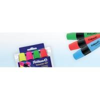 PELIKAN TEXTMARKER 490 Marcador fluorescente de punta biselada. Colores
