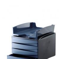 Fellowes 0008201. Bandejas para documentos Green2Desk Azul