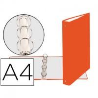 EXACOMPTA Carpeta de anillas de cartón forrado A4